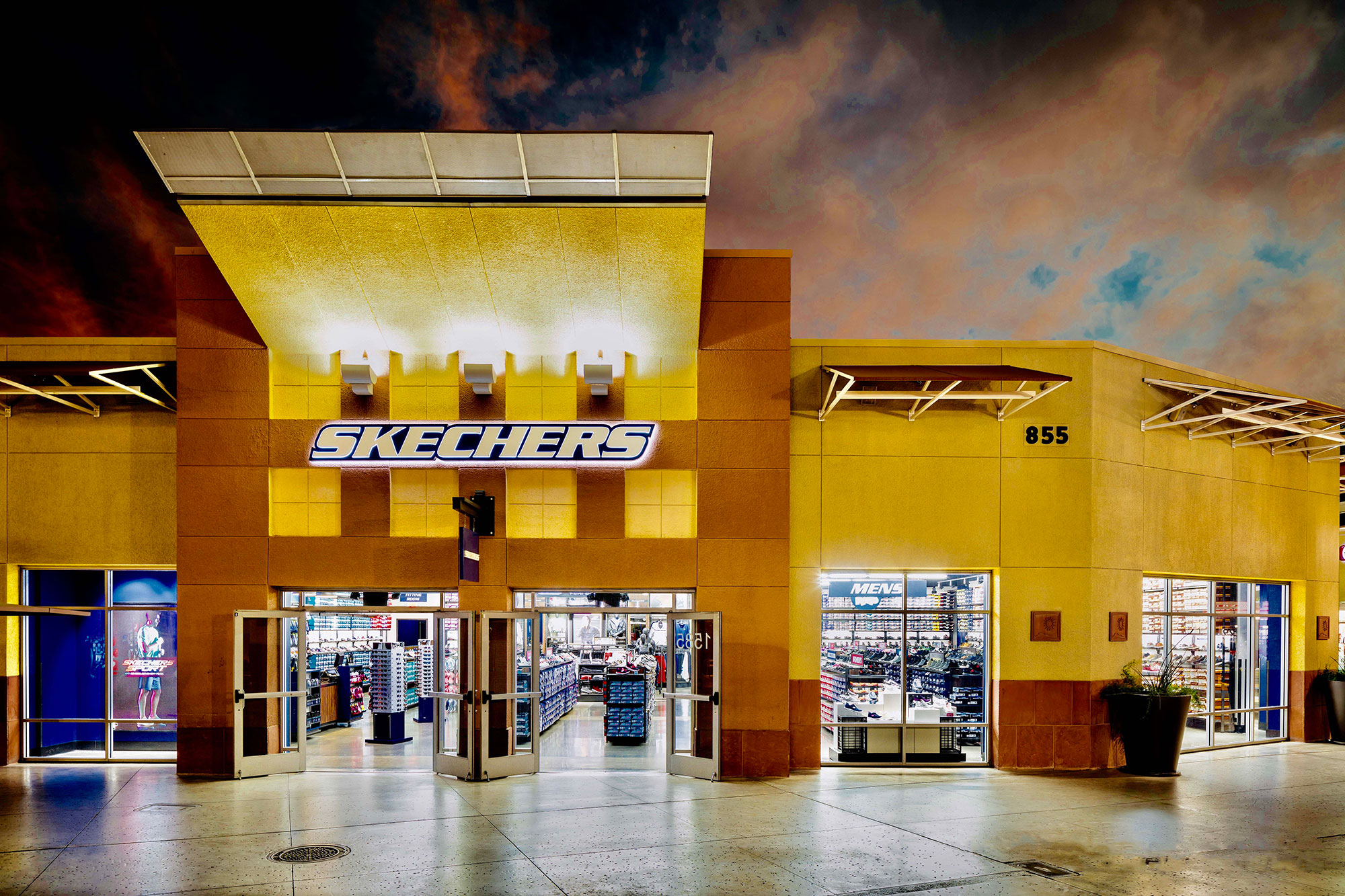 skechers warehouse shoes