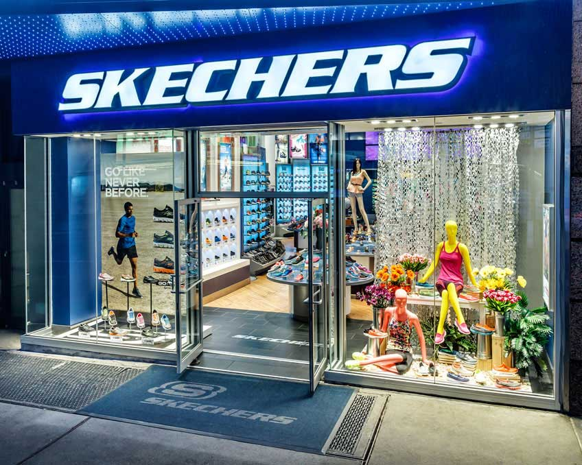 Skechers Shoe Store on 480 5th Avenue, San Diego CA